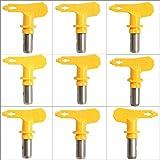 CALALEIE Airless Spritzpistole Tipps 4 Serie 09-31 for Wagner Atomex Titan Lack Spritzdüse Werkzeugzubehör (Color : 21)