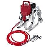 VidaXL 140319 Airless-Spritzgerät für Farbe, mit Kolben, 700W