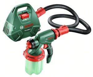 Bosch DIY Farbsprühsystem PFS 3000-2, Farbbehälter 1000 ml, Düse für Lacke und Lasuren