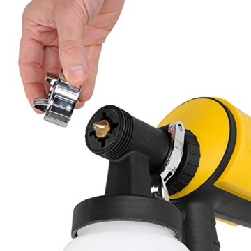 PowerPlusX Farbspritzpistole – elektrische Spritzpistole für Wandfarben - 7
