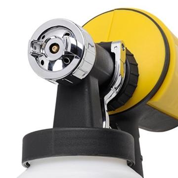PowerPlusX Farbspritzpistole – elektrische Spritzpistole für Wandfarben - 8