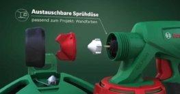 Bosch stellt vor: Farbsprühsysteme PFS 3000-2 und 5000 E
