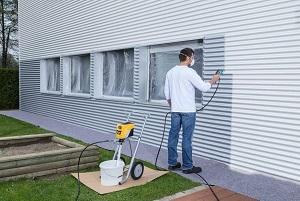 WAGNER Airless Farbsprühsystem Control Pro 350 M für Wandfarben, Lacke & Lasuren, Holz